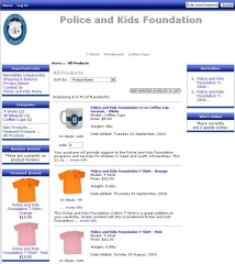 Police and Kids Foundation Store