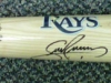 Tampa Bay Rays Autographed Bat