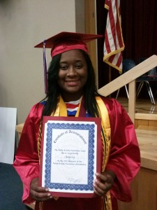 Aquilah Scott Scholarship Winner